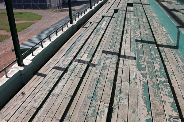 Wooden Bleachers