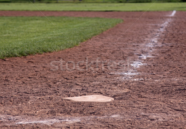 Home Plate Shallow Focus Stock photo © ca2hill