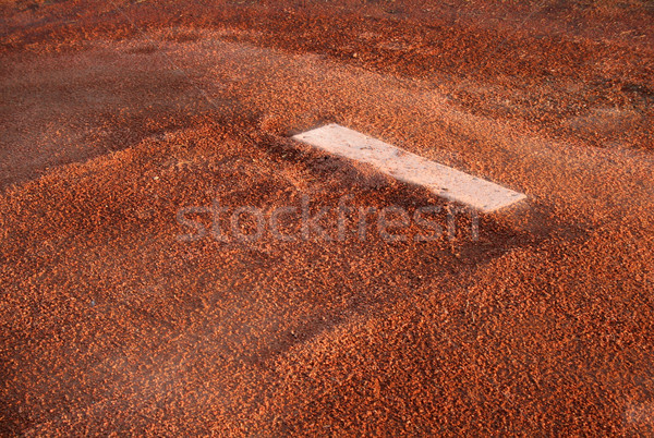 Pitching Rubber Stock photo © ca2hill