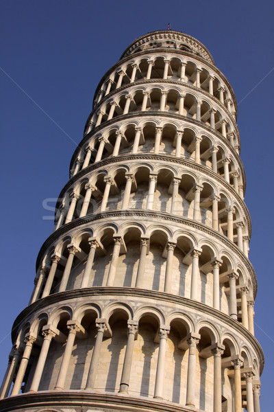 Isolated Leaning Tower