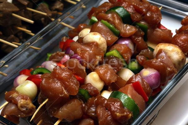 Chicken Kebab Stock photo © ca2hill