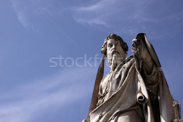 Saint Paul Statue Stock photo © ca2hill