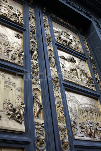 Doors of the Baptistry Stock photo © ca2hill