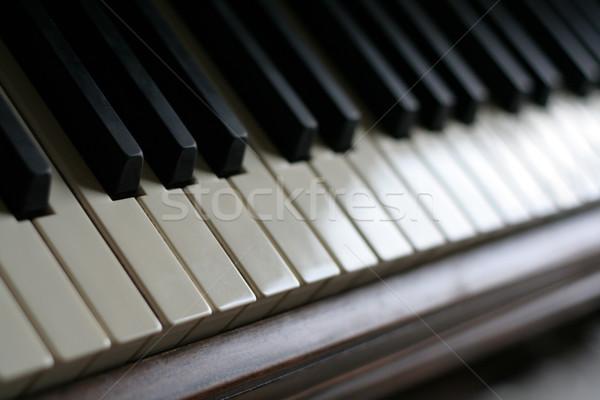 Piano Keys Stock photo © ca2hill