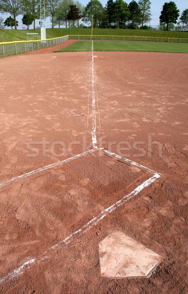 Left Field Line Stock photo © ca2hill