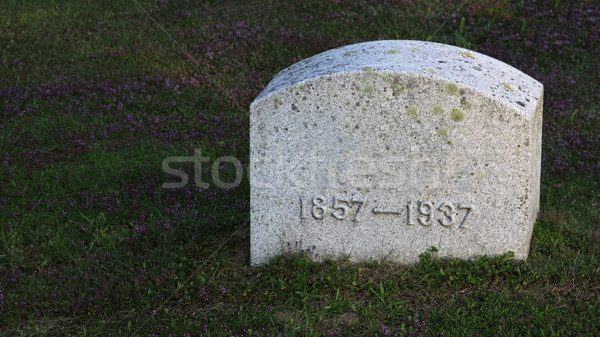 1857 - 1937 Tombstone Stock photo © ca2hill