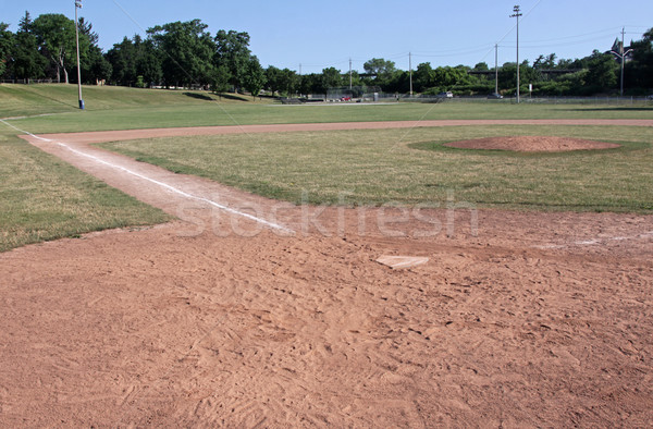 Ball Field Stock photo © ca2hill