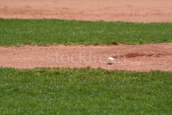 Sitting Baseball Stock photo © ca2hill