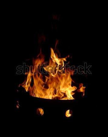 Fire Pit Stock photo © ca2hill