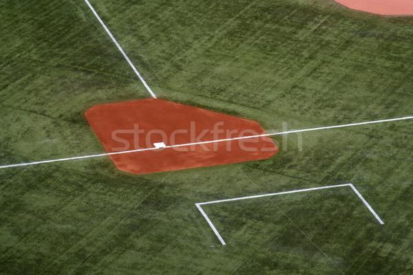 Terceiro esportes esportes bola saco Foto stock © ca2hill