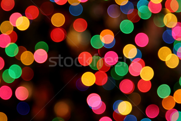 красочный фары выстрел Рождества аннотация свет Сток-фото © ca2hill