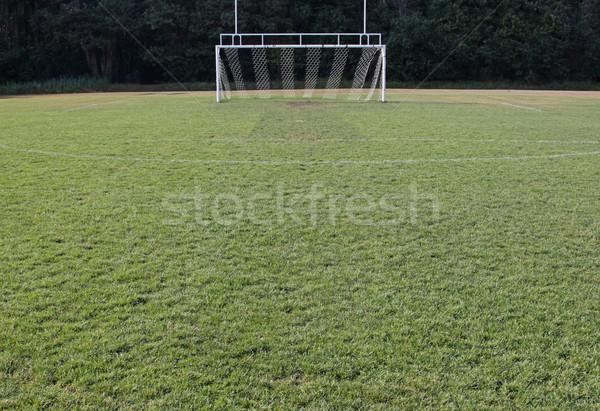 空っぽ サッカー ピッチ 表示 目標 ストックフォト © ca2hill