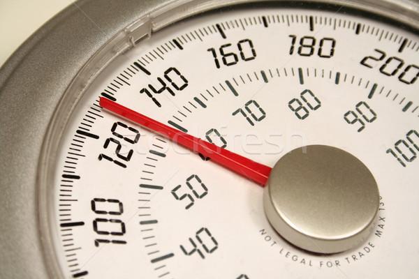 Peso escala conjunto corpo fitness Foto stock © ca2hill
