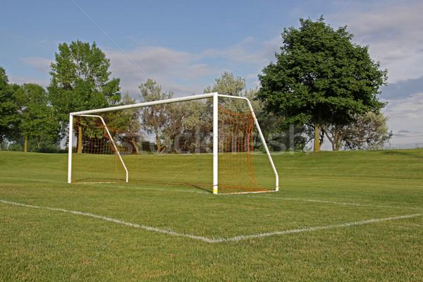 Empty Football Net Stock photo © ca2hill