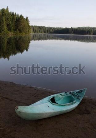Resting Kayak Stock photo © ca2hill