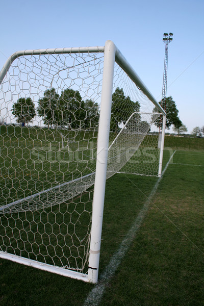 Soccer Goal Line Stock photo © ca2hill