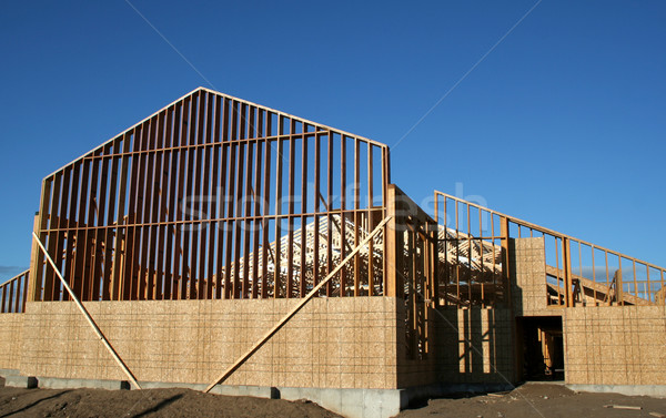 Large Wooden Frame Stock photo © ca2hill