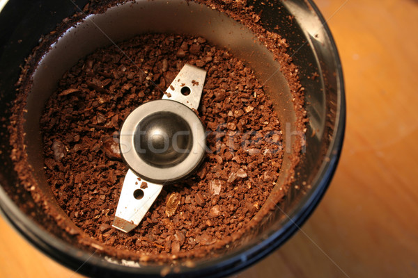Coffee Grinds Stock photo © ca2hill
