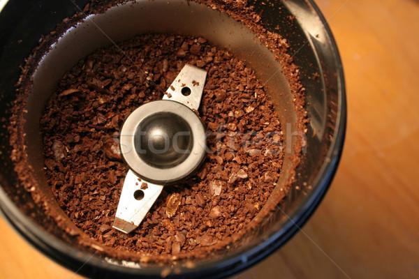 кофе сидят кафе пластина энергии Сток-фото © ca2hill