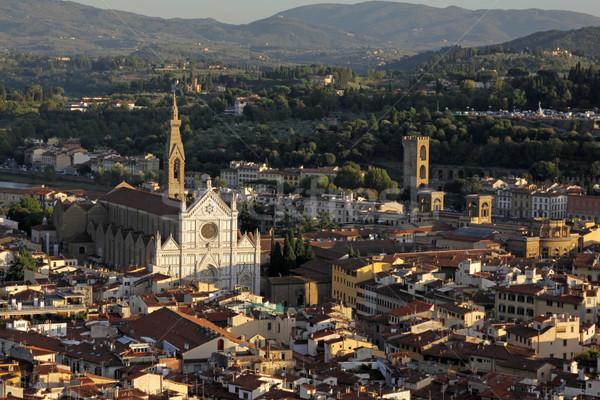 Basilica of Santa Croce Stock photo © ca2hill