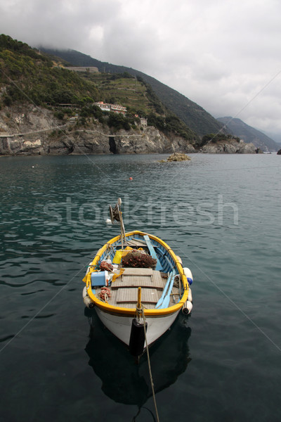 Liman kısrak bir beş makyaj Stok fotoğraf © ca2hill
