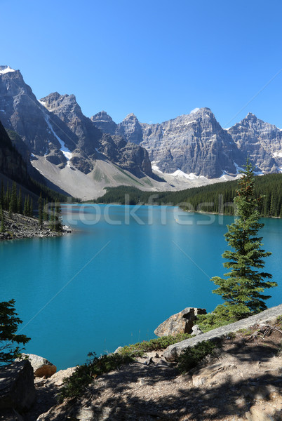 Lake Moraine in Banff