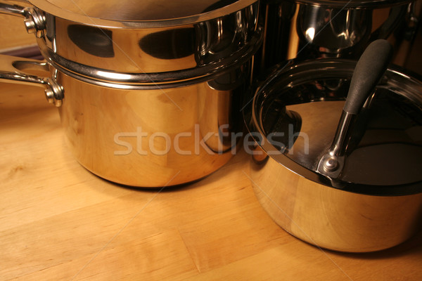 Various Pots Stock photo © ca2hill