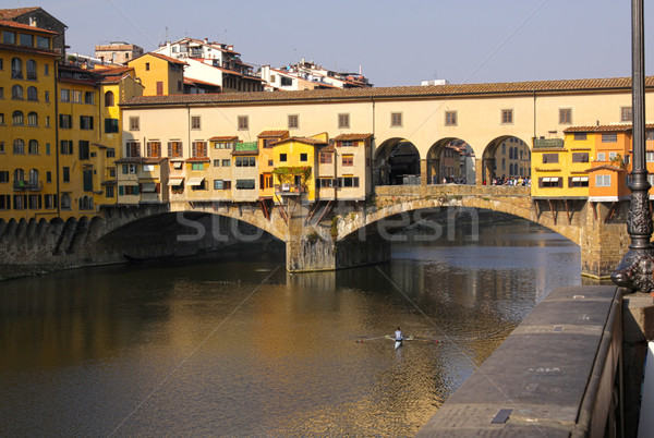 Ponte Vecchio and the Arno Stock photo © ca2hill
