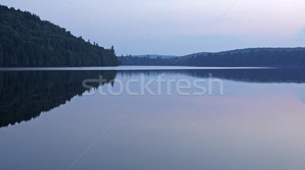 Otterslide Lake at Dusk Stock photo © ca2hill