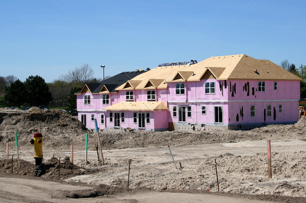 New Townhouse Stock photo © ca2hill