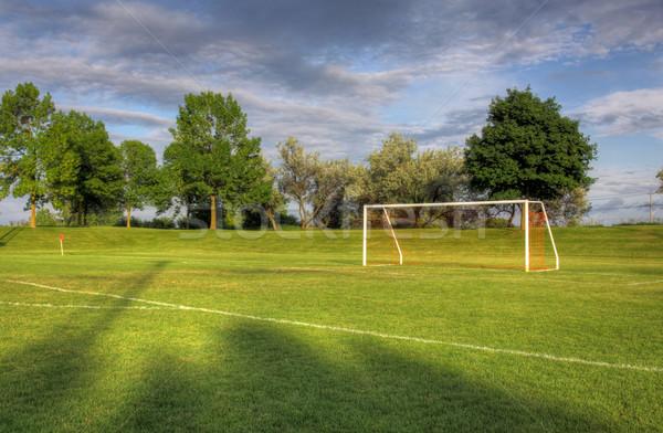 Football Goal Stock photo © ca2hill
