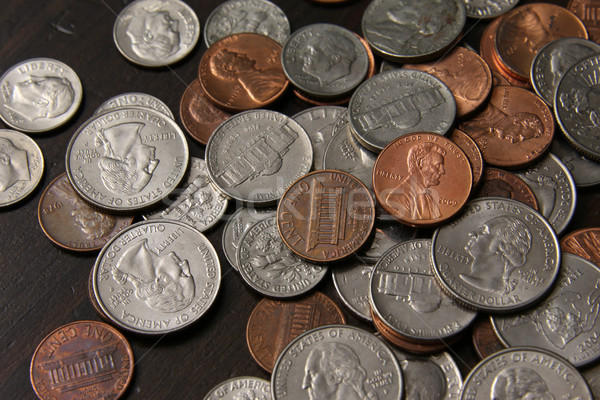 American Coins Stock photo © ca2hill