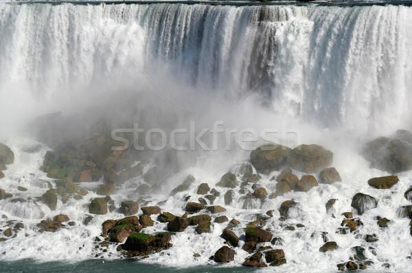 Amerikaanse Niagara Falls New York schoonheid waterval rivier Stockfoto © ca2hill