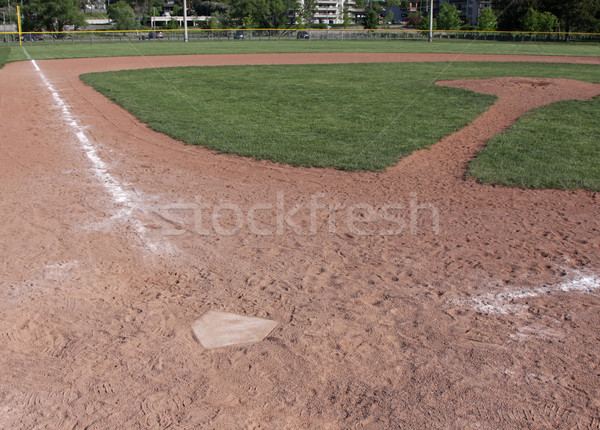 Empty Baseball Field Stock photo © ca2hill
