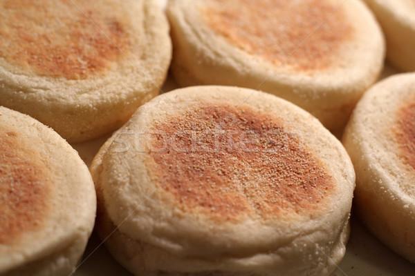 Engels muffins bos shot ondiep Stockfoto © ca2hill