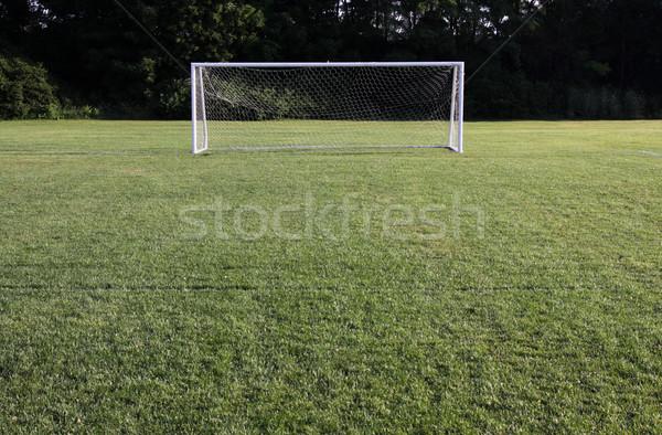 Bright Soccer Net Stock photo © ca2hill