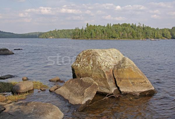 озеро рок большой парка Онтарио Канада Сток-фото © ca2hill