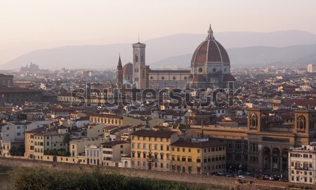 Florence at Dusk Stock photo © ca2hill