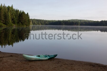 Kayaking in Algonquin Stock photo © ca2hill