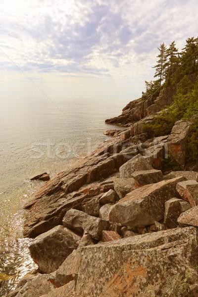 Lake Superior Rocky Shore Stock photo © ca2hill