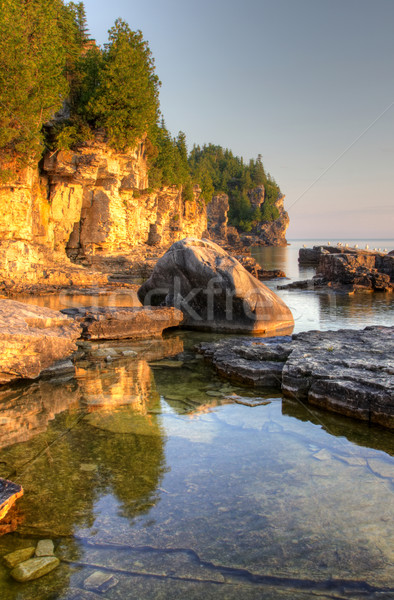 Golden Lit Bruce Peninsula