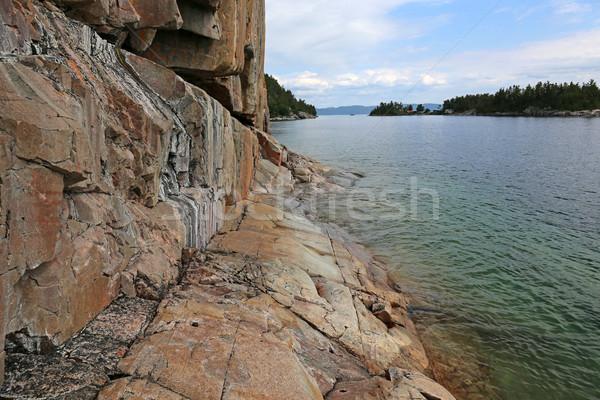 Agawa Rock Site Stock photo © ca2hill