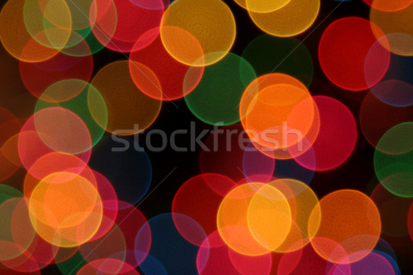 Colorful Defocused Lights Stock photo © ca2hill