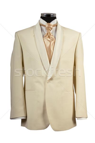Costume or cravate cérémonie vue Photo stock © caimacanul