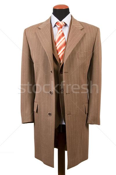 элегантный костюм бизнеса моде мнение Сток-фото © caimacanul