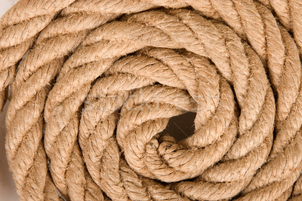 Spiral halat görmek ortak merkezli Stok fotoğraf © caimacanul