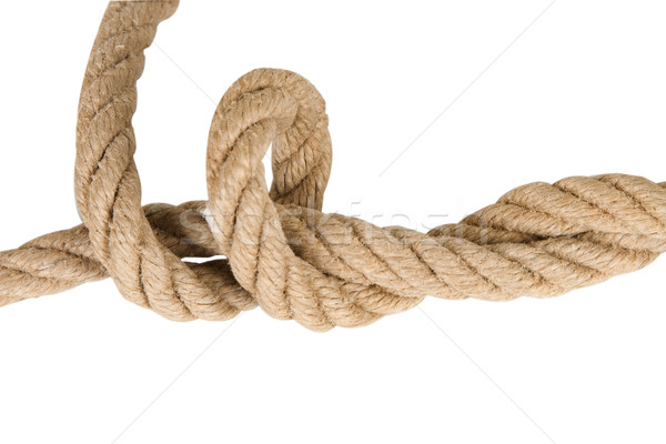 industrial rope made of hemp Stock photo © caimacanul
