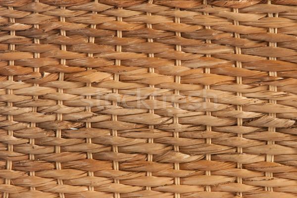 природного текстуры плетеный корзины природы фон Сток-фото © caimacanul
