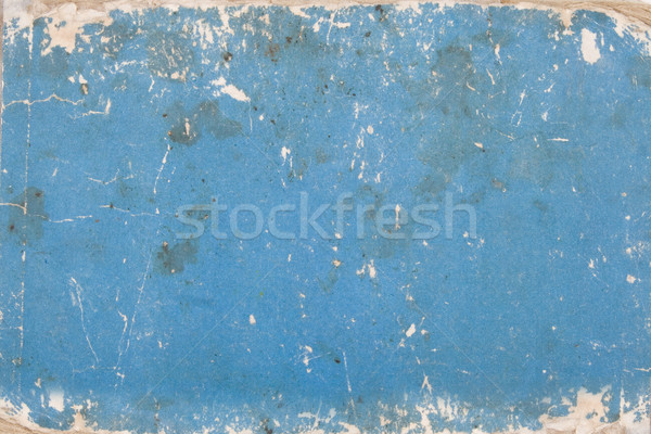 blue cardboard with age marks Stock photo © caimacanul