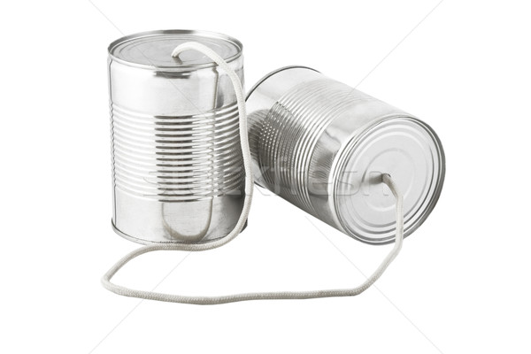 cans telephone connected by string Stock photo © caimacanul
